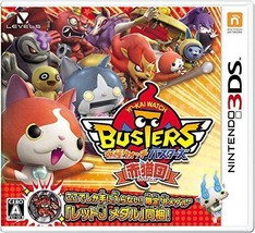 Level 5 Yo-kai Watch Busters Red Cat Team Ver for Nintendo 3ds Japanese ... - $62.75