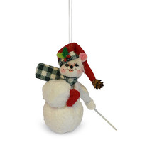 Annalee Dolls 3in 2018 Christmas Northwoods Snowball Mouse Ornament New ... - $13.07