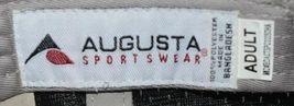 Augusta Sportswear Six Panel Red Black White Hook Loop Adjustable 6290 Adult image 6