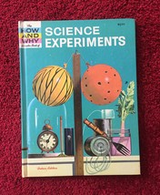 Vintage Childrens book: 1962 How and Why Wonder Book of Science Experiments