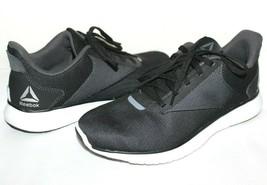 ❤️ REEBOK Instalite Lux Black/Gray Mesh Running Shoes 7 M EXCELLENT! L@@... - $23.74