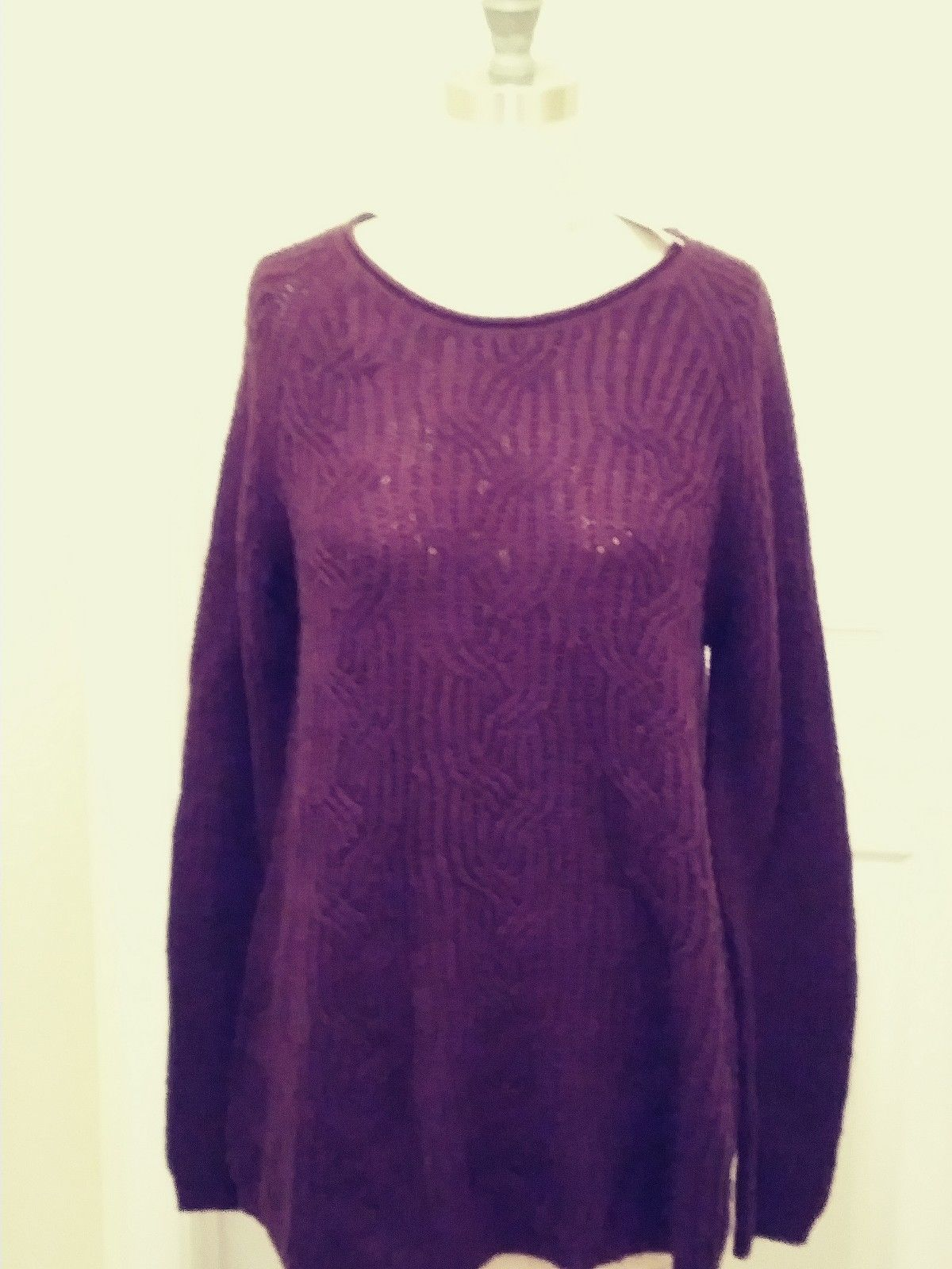 8096eeab women's Sonoma plum-colored long sleeve and 50 similar items