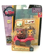 Hasbro Littlest Pet Shop Pets in the City #220 #221 New - $24.60