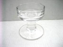 Vintage 1980's WEDGWOOD Clear Glass Crystal Ele... - $39.00