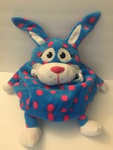 AS SEEN ON TV *WILD ONE'S* TUMMY STUFFERS JAY AT PLAY!! POLKA DOT BUNNY ... - $15.00