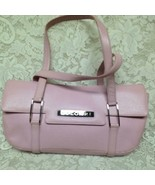 Authentic, Bvlgari Pink Grained Leather ShoulderBag 14in x 7in x 3 in - $185.20