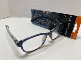 Foster Grant Misha Blu Women's +2.50 Reading Glasses W/Soft Case - $12.99