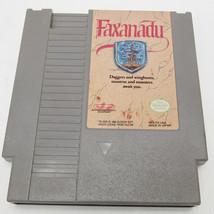 NES FAXANADU GAME CARTRIDGE FOR NINTENDO -A5 - $11.99