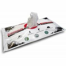 Mammoth Wipes 2x XXL Body Washing Towel Bamboo Antibacterial Camping Tis... - $8.99
