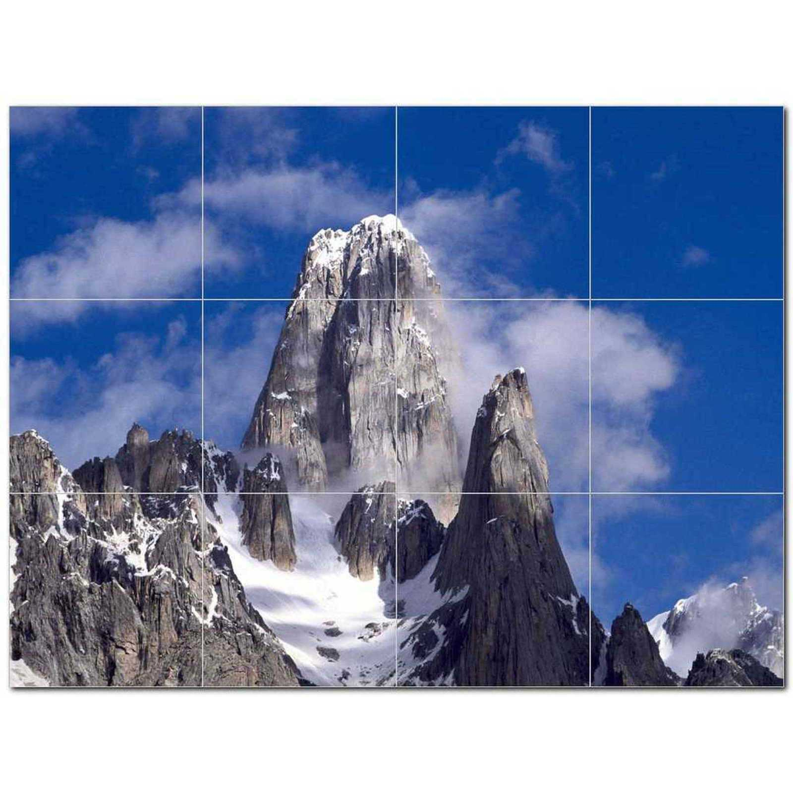 Primary image for Mountain Scene Ceramic Tile Mural Kitchen Backsplash Bathroom Shower BAZ405610
