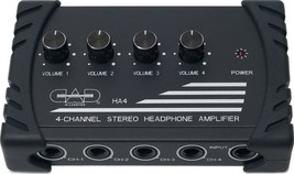 CAD Audio - HA4 - Four Channel Stereo Headphone Amplifier - $58.41
