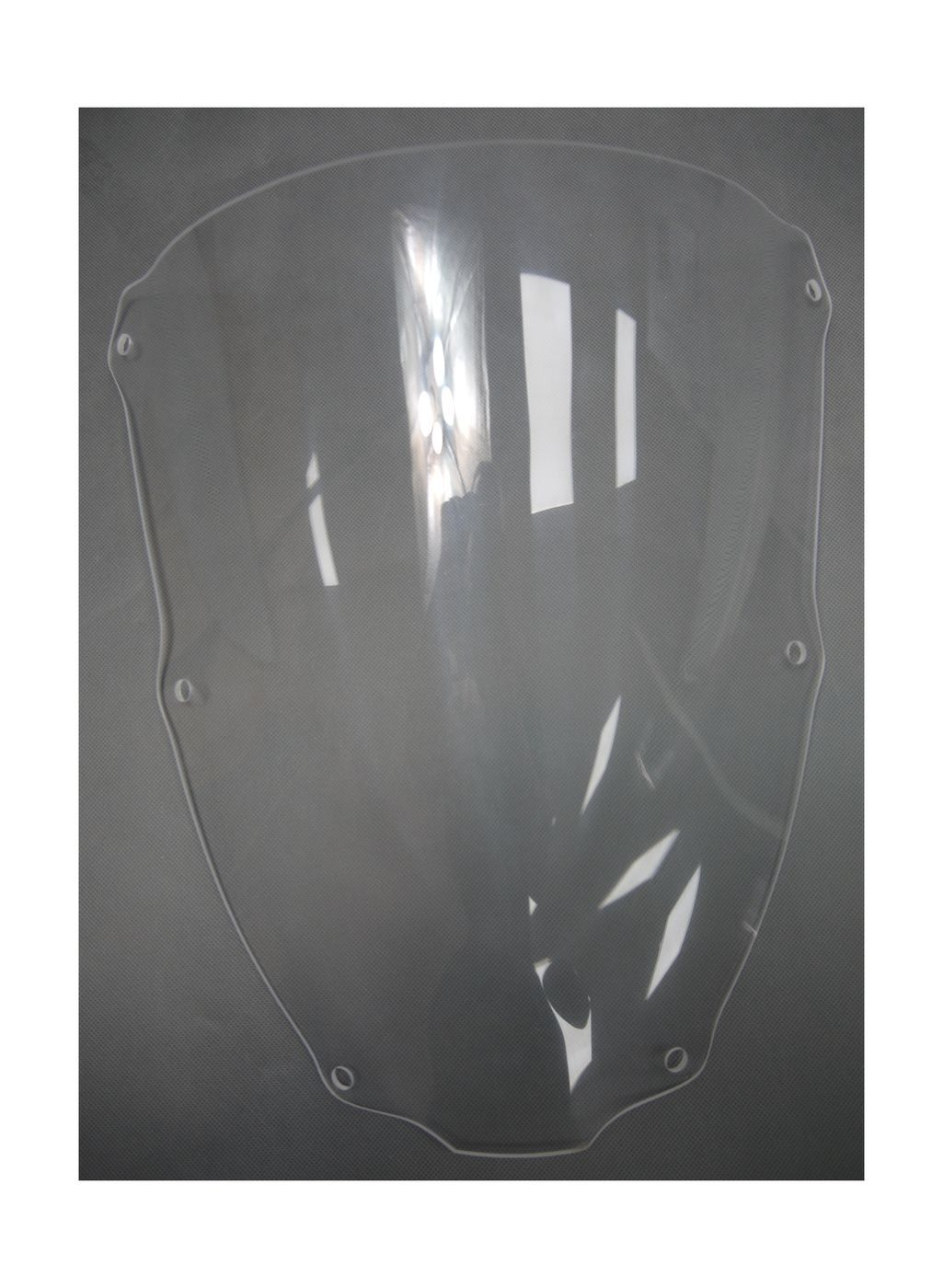 Glass windscreen Kawasaki ZX-6R 2000-2002 g. transparent