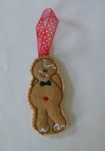 "Christmas Gingerbread Boy Ornament 4"" tall - $3.75"