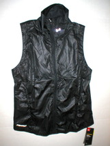 New Womens Under Armour Vest NWT Storm Black M Reflective Run Water Resi... - $43.60