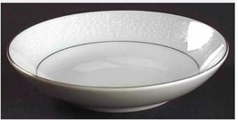 Individual Fruit/Dessert (Sauce) Bowl Lovelace by CROWN VICTORIA White S... - $7.91