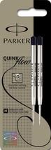 Parker Quinkflow Medium Black Ball Pen Refill - Pack of 2 - $6.92