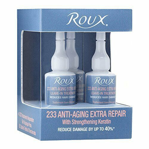 Roux Anti-Aging 233 Extra Repair Treatment Ampoules, 3 Pack