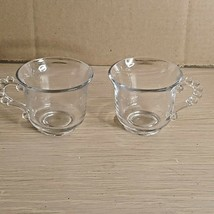 Candlewick pair of Tea Cups - $11.30