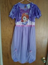 CHILD DISNEY STORE SOFIA THE FIRST HALLOWEEN COSTUME SIZE 7 - 8 - $13.00