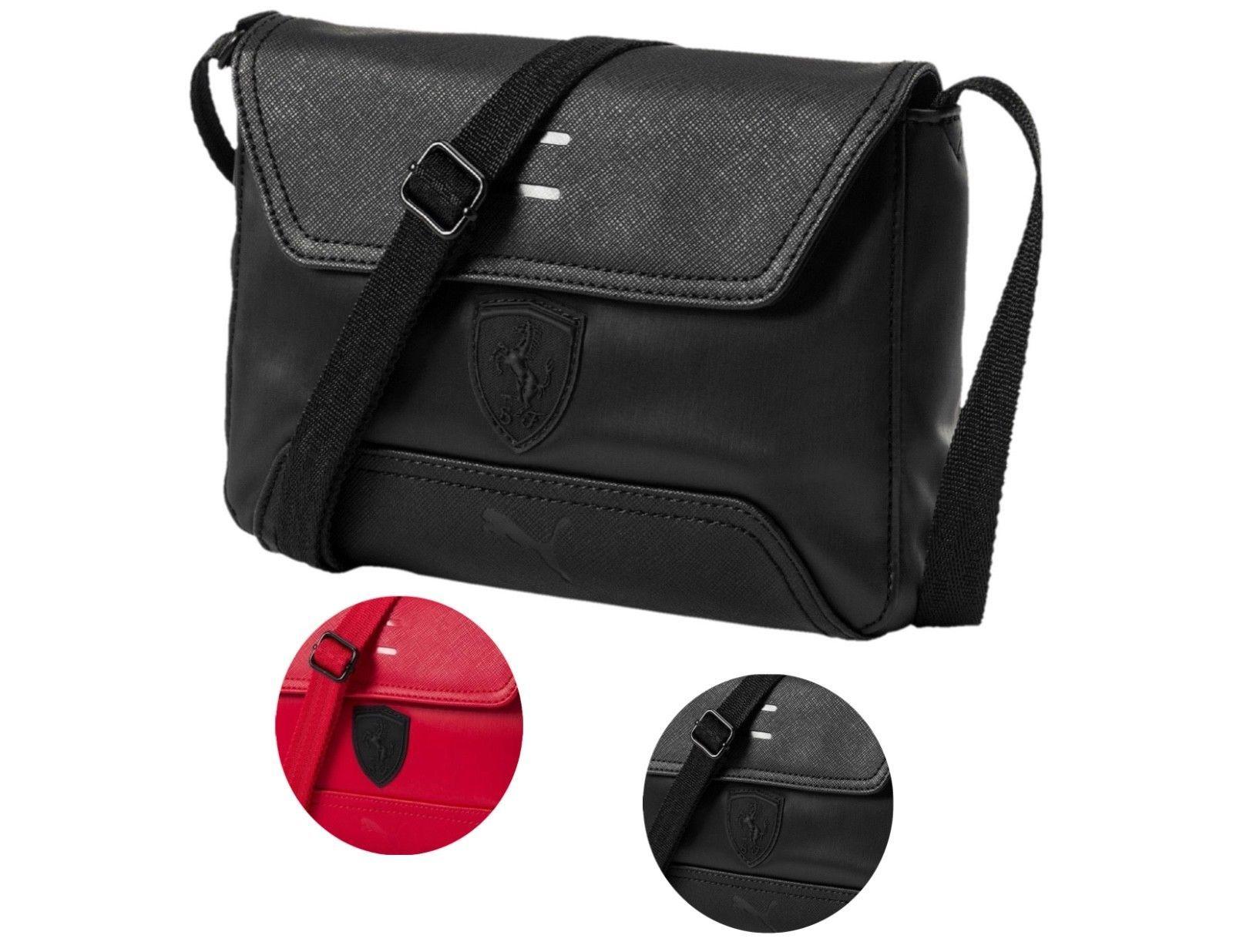 Puma Ferrari Women s Magnetic Snap LS Handbag Purse Small Satchel Bag  074845 -  52.99 a0dea198c895d