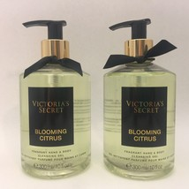2 Victoria's Secret Blooming Citrus Fragrant Hand & Body Cleansing Gel 1... - $24.74