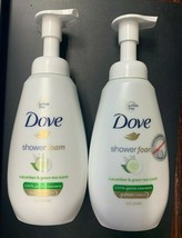 2x Dove Shower Foaming Body Wash, Cucumber - Green Tea Scent 13.5 oz  - $19.99