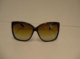 Tom Ford Nuovi Occhiali da Sole Donna Lydia Tf 228 05F Quadrato Tartaruga - $157.63
