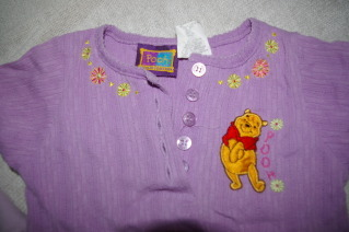 Girls Toddler Winnie the Pooh Sweatshirt and Knit Top Size S (4)