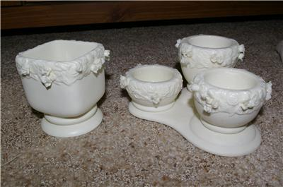PartyLite Rose Garden Urn Candleholders Party Lite
