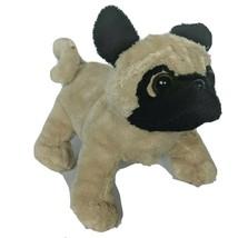 "Ganz Webkinz Lil Kinz Tan Pug Puppy Dog Stuffed Animal HS105 No Code 7"" - $13.36"