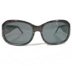 Kate Spade Sunglasses Eyeglasses Frames Brown Snake Print Round OLA 2/S 0DZ8 125 - $46.75