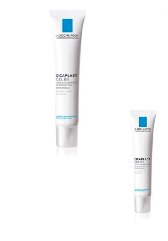2 x La Roche Posay CICAPLAST GEL B5 pro-recovery skin care 40 ml PERFUME FREE