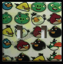 Angry Birds icon Home decor Light Switch Duplex Outlet wall Cover Plate & more image 2