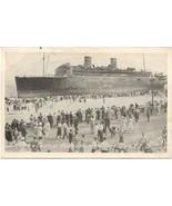 Morro Castle Shipwreck Asbury Park New Jersey September 1934 Post Card  - $15.00