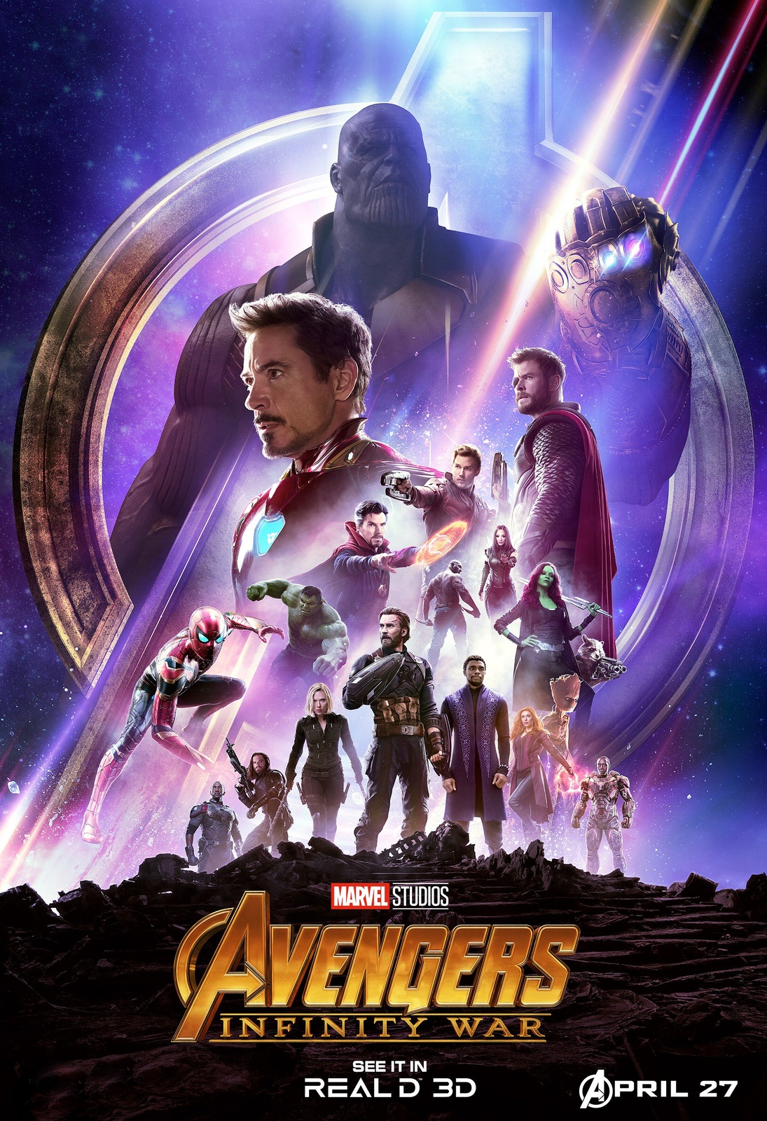 Avengers Infinity War Movie Dolby Poster And 50 Similar Items