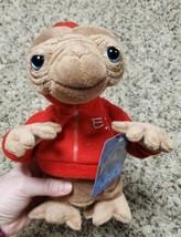"ET Plush Alien Universal Studios Extra Terrestrial Stuffed Toy Red Hoodie 9""  - $18.69"