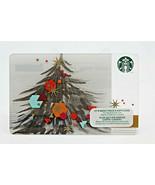 Starbucks Coffee 2014 Gift Card Christmas Tree Ornaments Winter Zero Bal... - $10.83