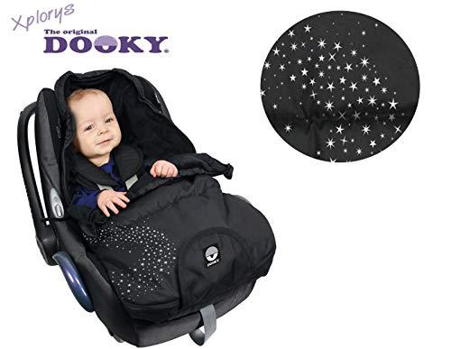 Dooky Universal Baby Stroller Sleeping Bag footmuff Small 3-9 Months Silver Star