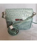 Charming Charlie Crossbody Purse Bag Green Small - $31.18