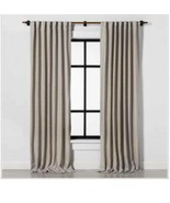 "1 Hearth & Hand Curtain Panel Sour Cream 108"" New Fresno New - $49.49"