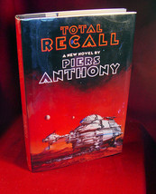 Piers Anthony TOTAL RECALL Very fine first edition in dust jacket - $122.50