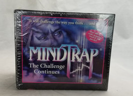 Pressman 1997 Mindtrap The Challenge Continues  Game New Factory Sealed - $35.00