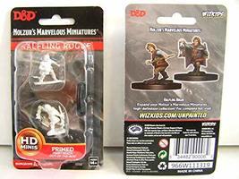 WizKids D&D Nolzurs Marvelous Upainted Miniatures: Wave 11: Male Halfling Rogue - $8.99