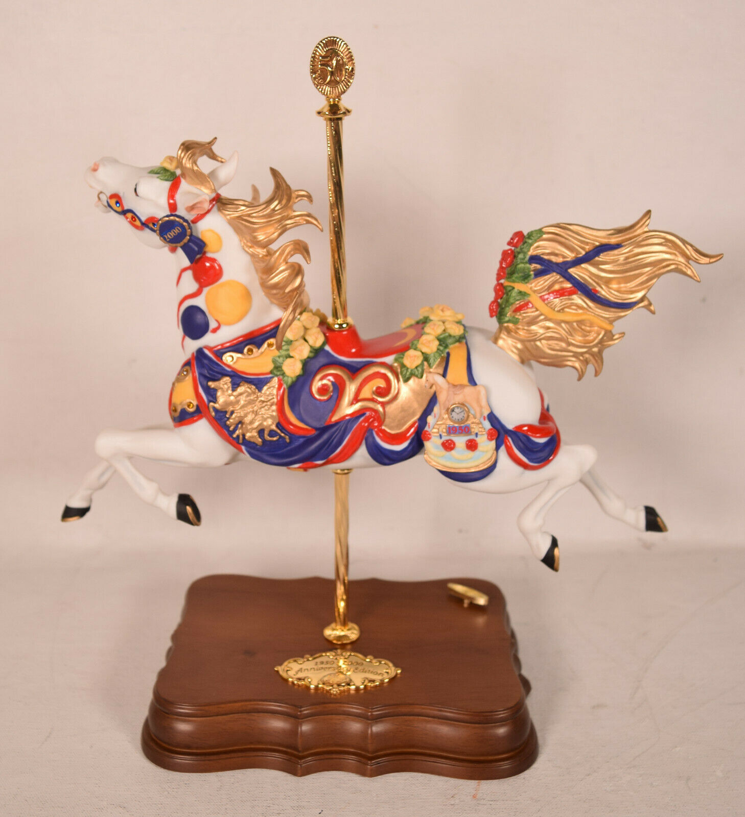 Breyer Gallery Carousel Horse w Music Box  - $128.70