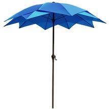 8 Foot Patio Umbrella Outdoor Shade Garden Wind Resistant UV Protection ... - $71.67