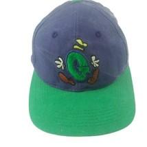 Goofy Disney Embroidered Strapback Hat Distressed - $20.78