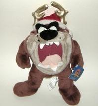 1/2 Price! Looney Tunes Taz Tazmanian Devil Plush Christmas NWT - $8.00