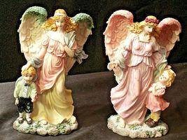 Pair of Angel Figurines in box AA-192051 Vintage image 3