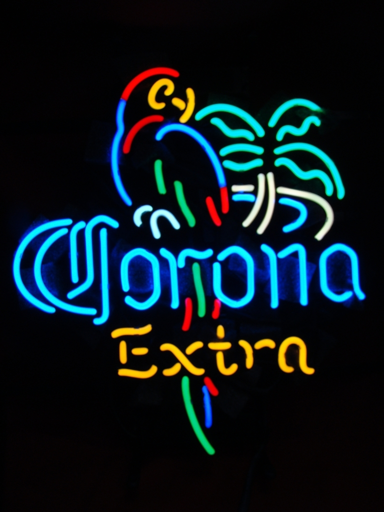 Corona Extra Parrot Beer Bar Neon Light Sign 16