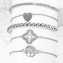 Silver Tree of Life Bracelet Created with Swarovski® Crystals - $8.81